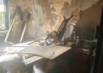 Brandschaden Wohnung