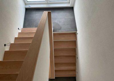 Kernsaniertes Treppenhaus in Göppingen